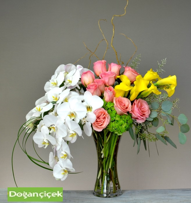 Orkide Pembe Güllü Özel Arajman