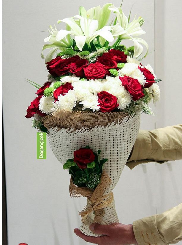 Yakuplu Çiçek buketi Online